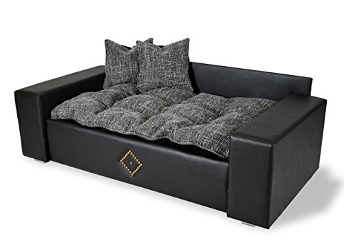 hundesofa hundebett katzenbett dog cat neu xxl kunstleder luxus couch hunde. Black Bedroom Furniture Sets. Home Design Ideas